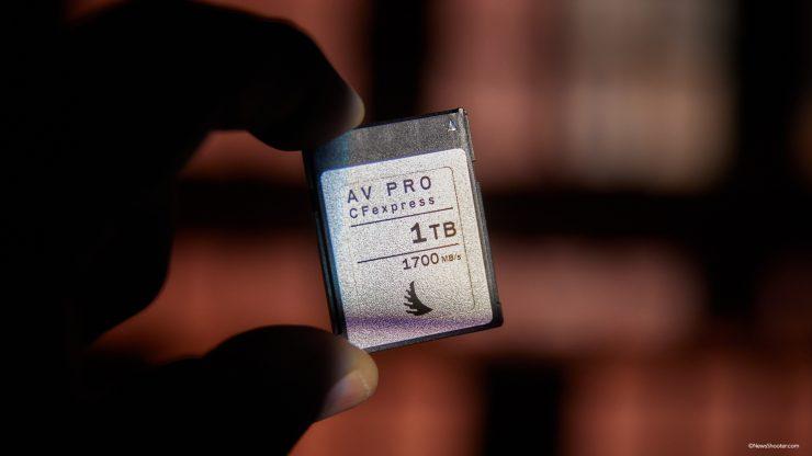 Anglebird CFexpress B 1TB front