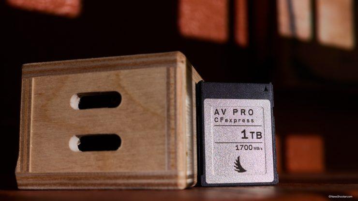 Anglebird CFexpress B 1TB front on box