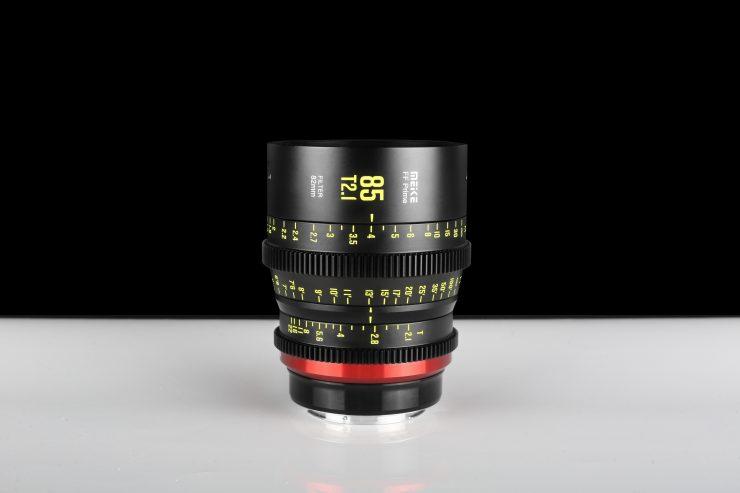 Meike 85mm T2.1 FF-Prime Cine Lens