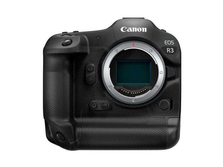 Canon EOS R3 Front white