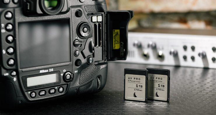 Nikon D6 CFexpress 2 lg HD