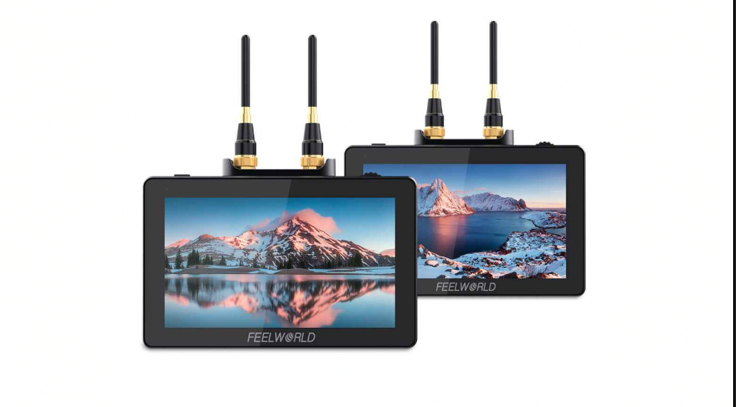 Feelworld FT6 & FR6 5.5 inch monitor kit– built-in wireless transmitter and receiver - Newsshooter