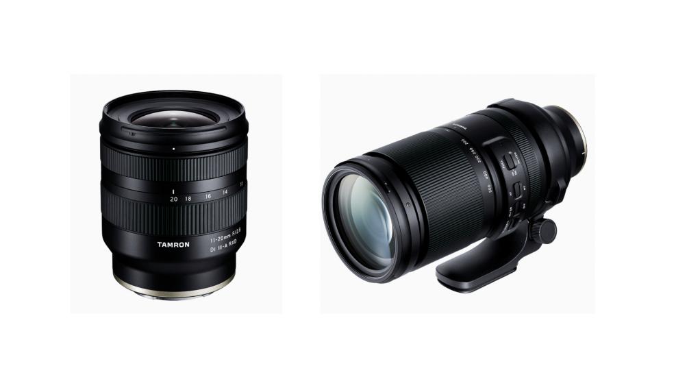 Tamron 150-500mm F5-6.7 Di VC VXD & 11-20mm F/2.8 Di III-A RXD