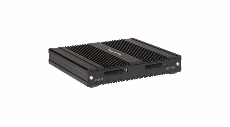 Sonnet Dual-Slot 40Gbps Thunderbolt Card Reader for SxS PRO X Media