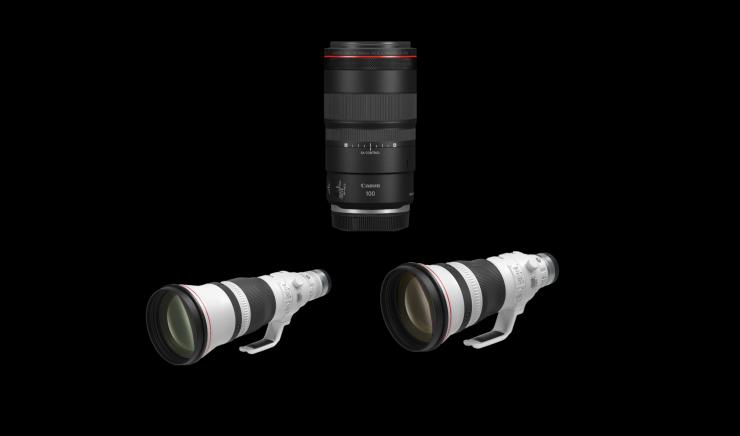 Canon announces three new RF lenses