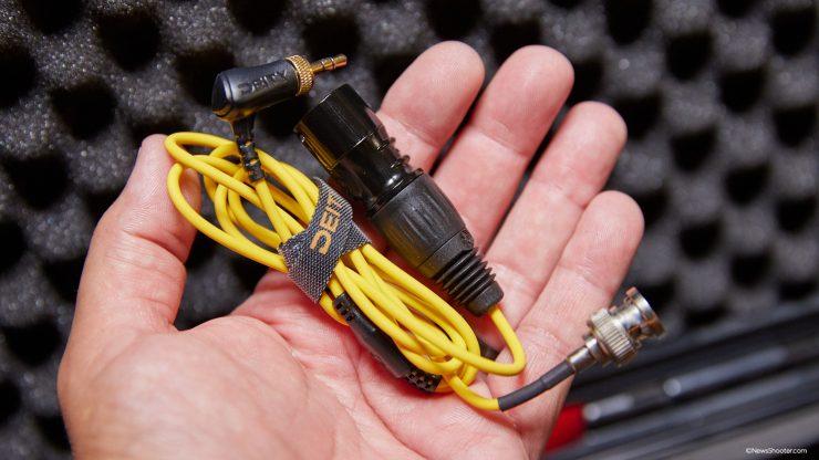 BP TRX BNC XLR cable