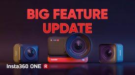 Big Feature Update Insta360 ONE R