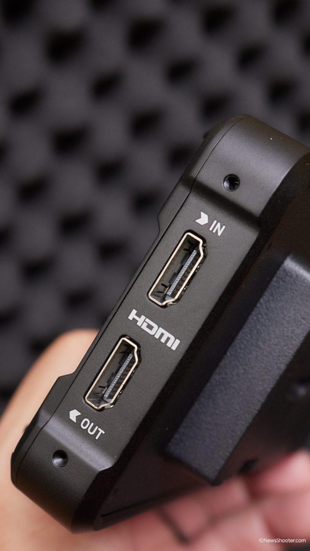 Master Control Unit side HDMI IO