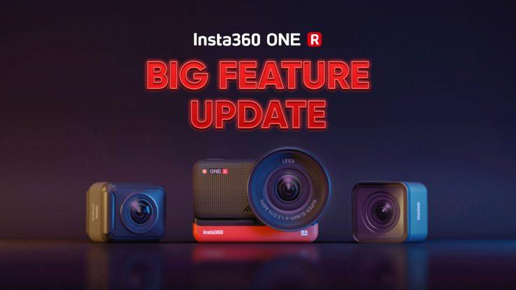 Photo Insta360 ONE R Big Feature Update KV