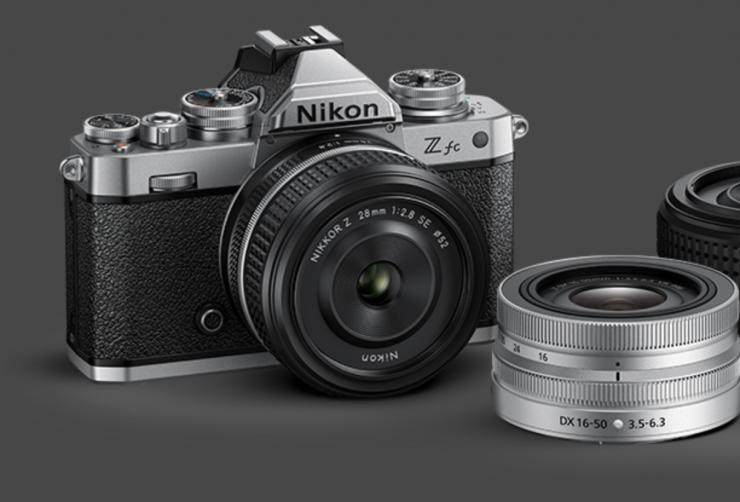 Nikon Z fc with Nikkor lens