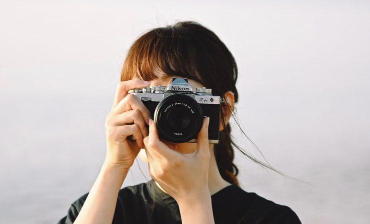 Nikon Z fc retro camera
