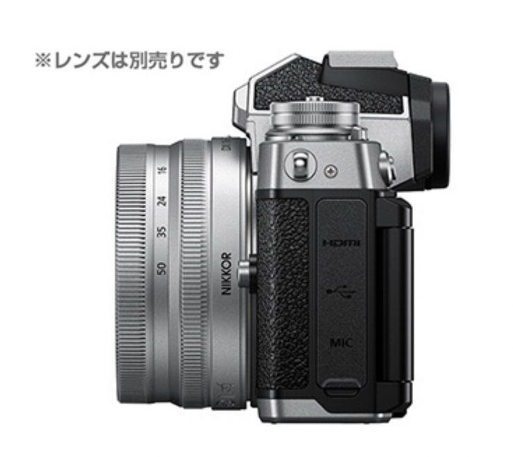Nikon Z fc hdmi mic usb port