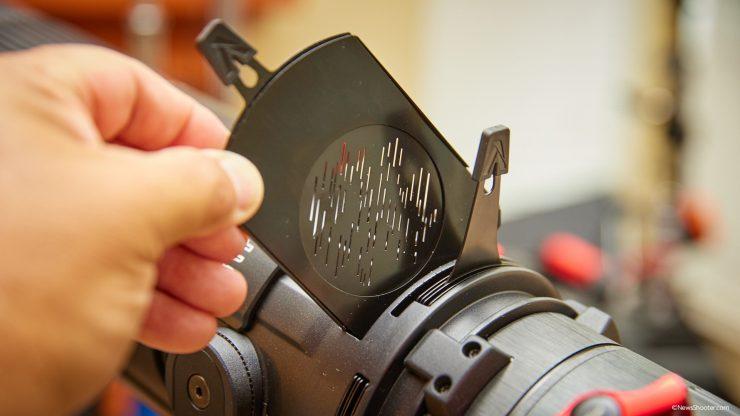 Spotlight Mini Zoom Gobo holder