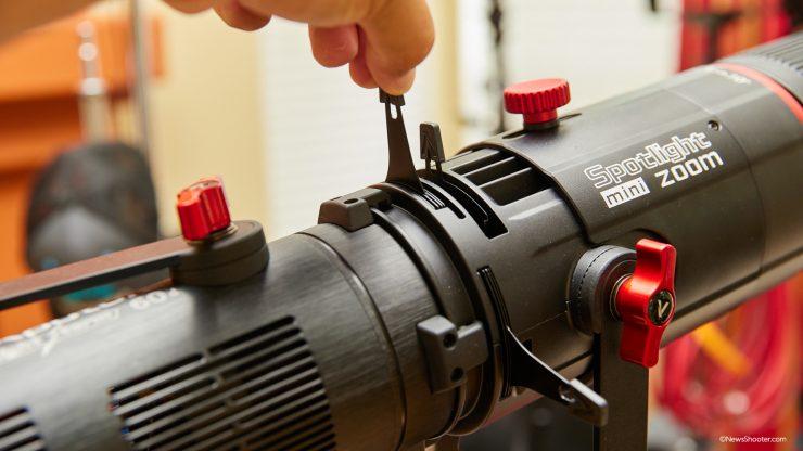 Spotlight Mini Zoom shutter