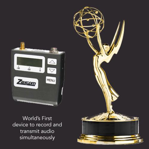 Zaxcom TRX900 Emmy Glenn Sanders American Inventor