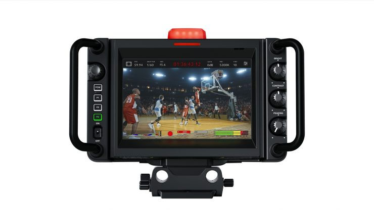 Blackmagic Studio Camera 4K Pro Back 2