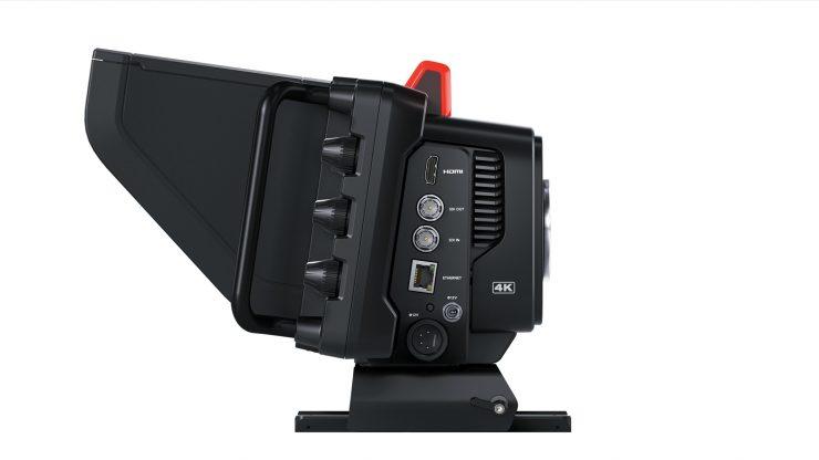 Blackmagic Studio Camera 4K Pro Left