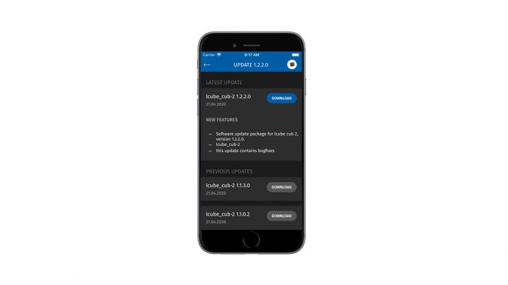 ECS Sync App Update Sample