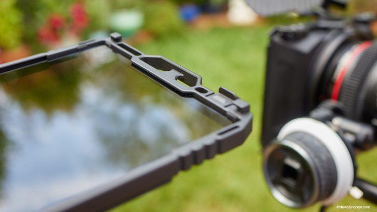 SmallReig Mini Matte Box slot for filter