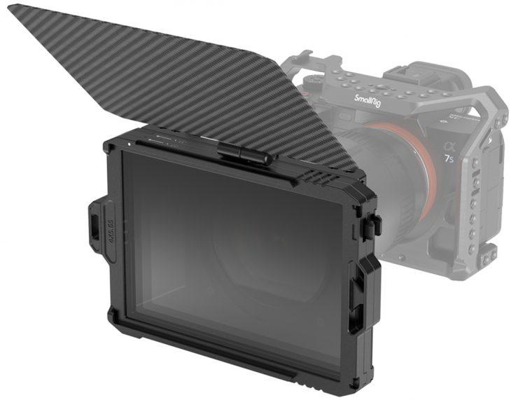 SmallRig Mini Matte Box stacked filters