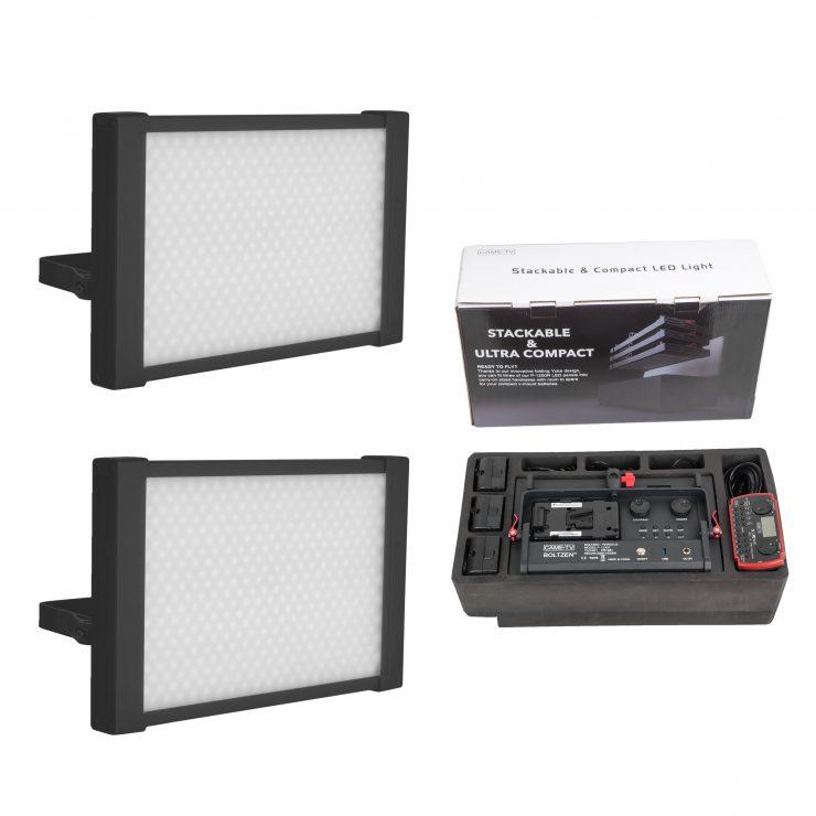 2 lights kit with foam