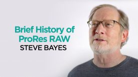 Brief History on Apple ProRes RAW ProRes RAW Knowledge Series