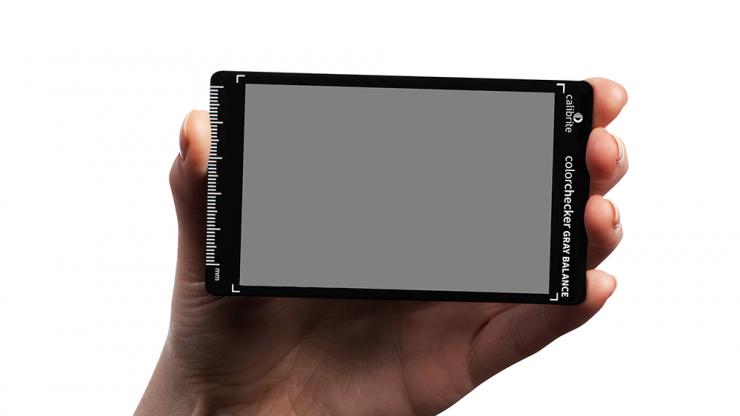 PI CALB514 CCGB MINI Calibrite CC Gray Balance Mini PT03 Hand