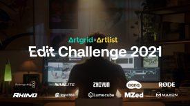 Win 75K in gear Artgrid x Artlist Edit Challenge 2021 AGeditchallenge