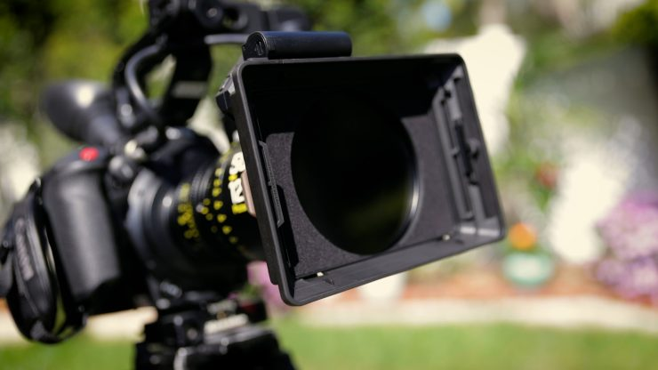 Front of matte box