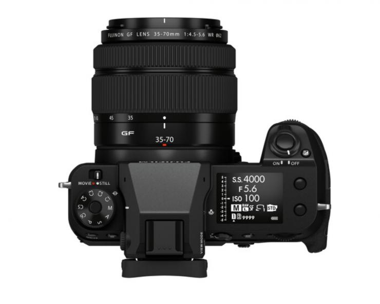 Fujifilm GFX 50S II con GF 35-70 mm f / 4.5-5.6 WR