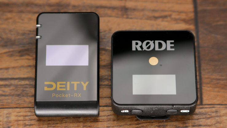 Rode and Deity side by side