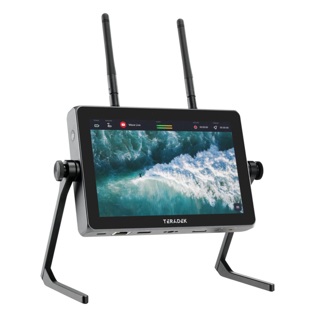Teradek Wave– a 5-in-1 Smart Streaming Monitor