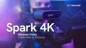 Teradek Spark 4K The Zero Delay 4K Wireless Transmission for AV